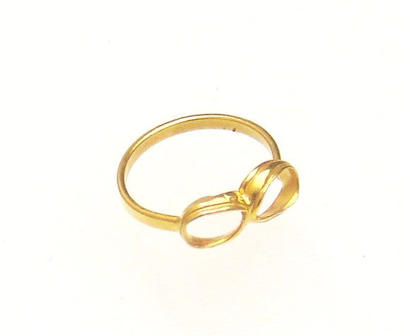 Thin Infinity Ring  Simple Ring  Simple Jewelry  by profoundgarden