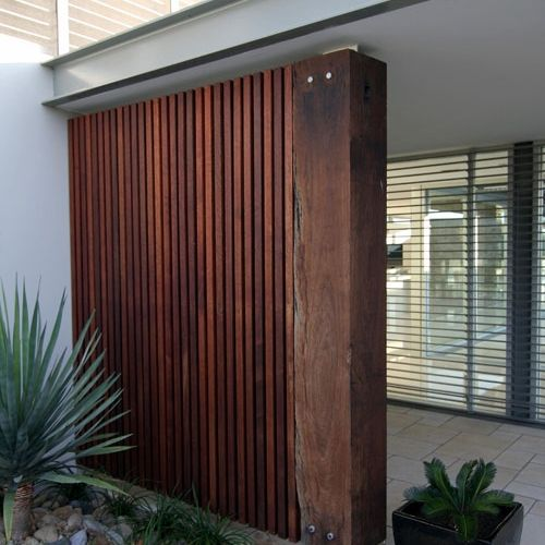 Recycled Timber Cladding and Screening