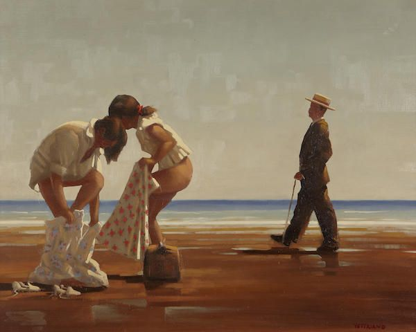 Jack Vettriano - Discovered
