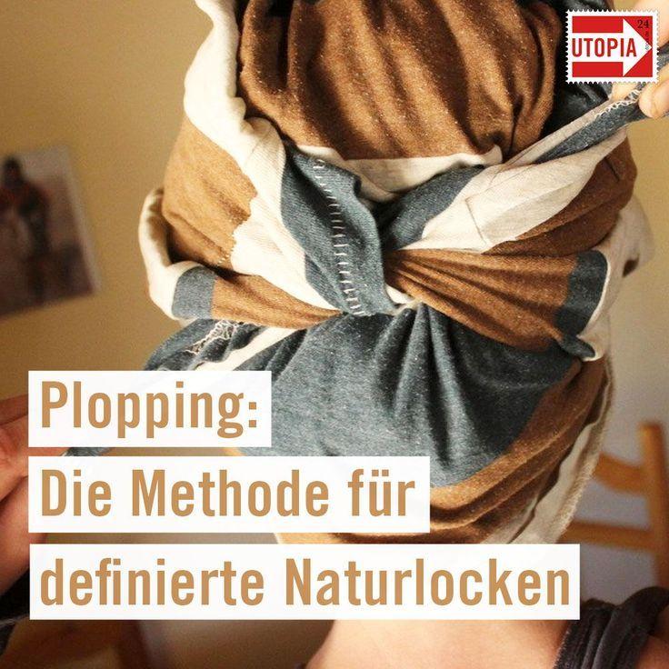 Plopping Die Methode Fur Definierte Naturlocken Utopia De In 2020 Locken Machen Naturlocken Locken Tipps