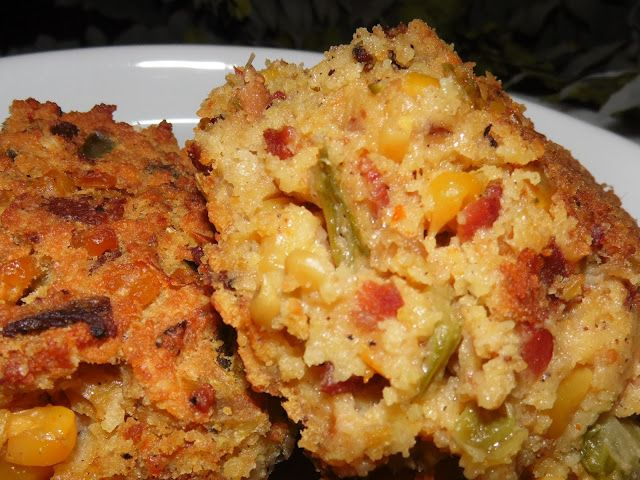 Oh La LaY'all......French Style and Southern Charm: Southern Bacon and Crawfish Cornbread Dressing