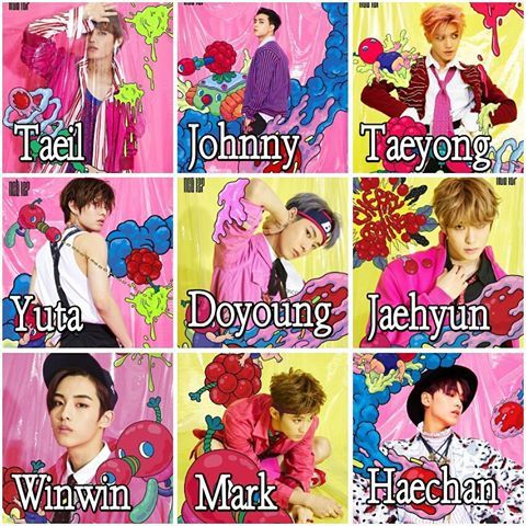Image result for nct 127 members