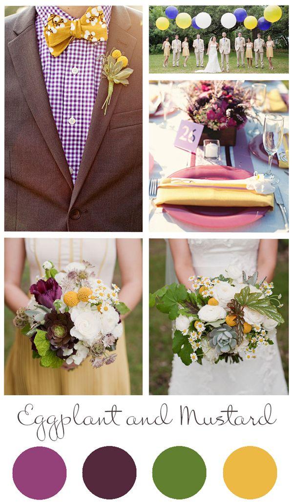 fall wedding color schemes 2013
