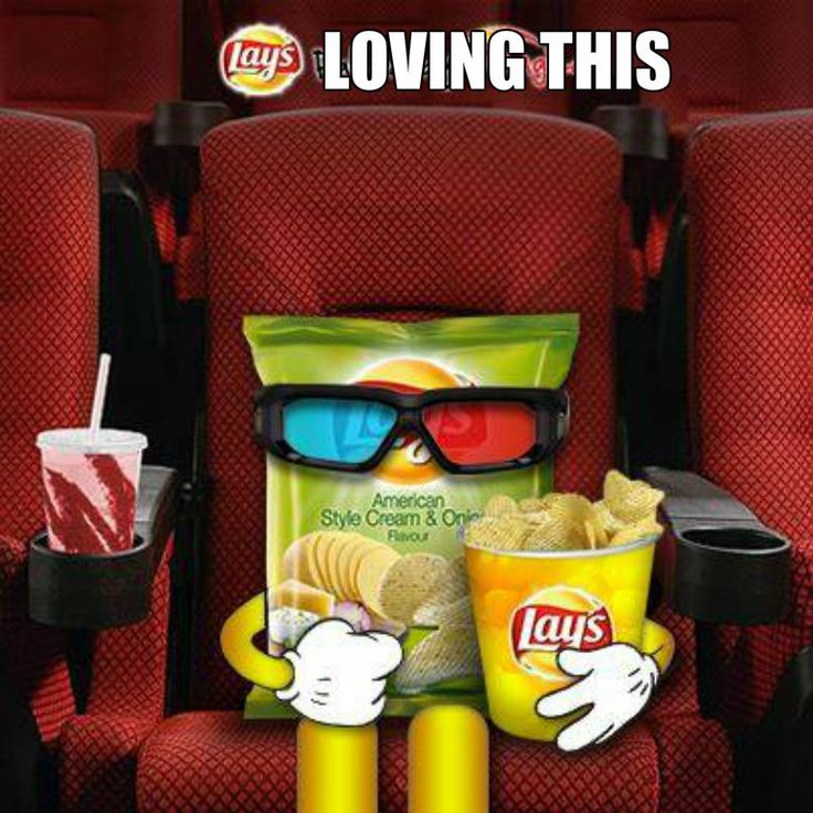 Movie night with #lays