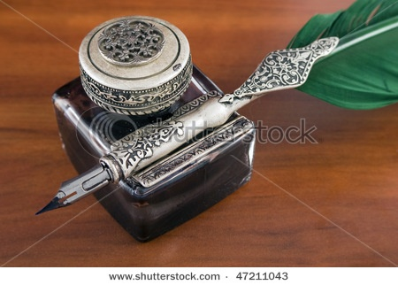 Love Quill Writing And Drawing This Antique Set Would