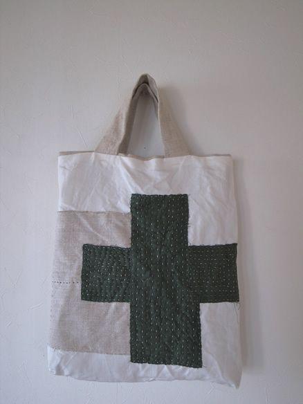 bag・刺し子バッグ