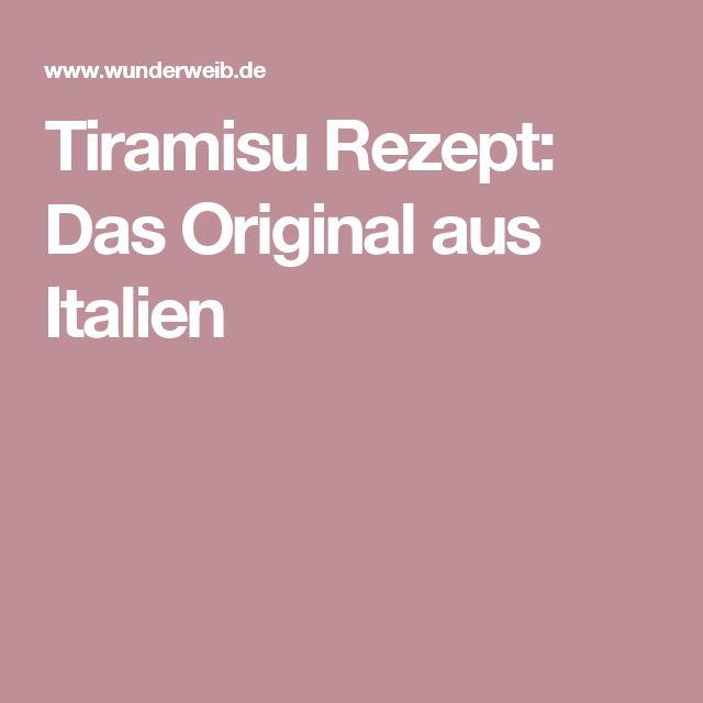 Die Besten 25+ Tiramisu Original Rezept Ideen Auf Pinterest