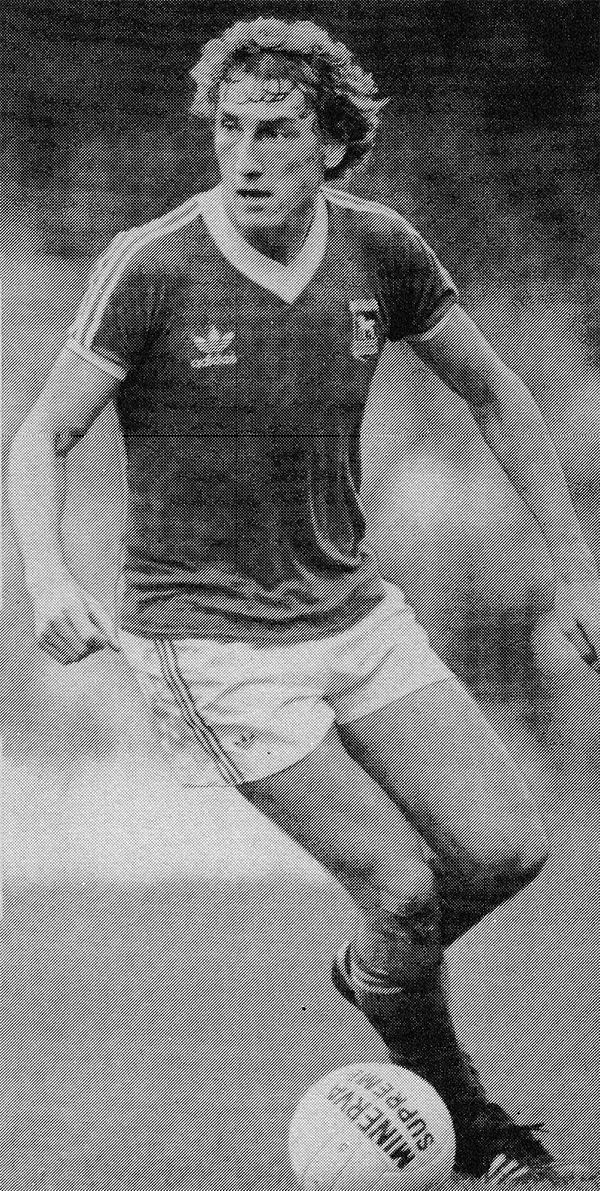 Circa 1980/81. Ipswich Town and England centre half Terry Butcher.