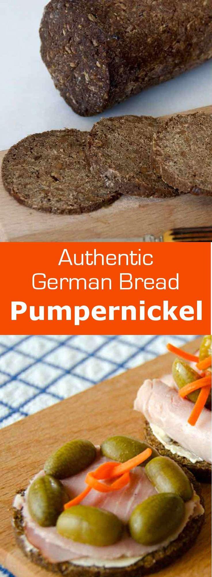 Authentic pumpernickel is a pure rye bread, originally from Westphalia in…