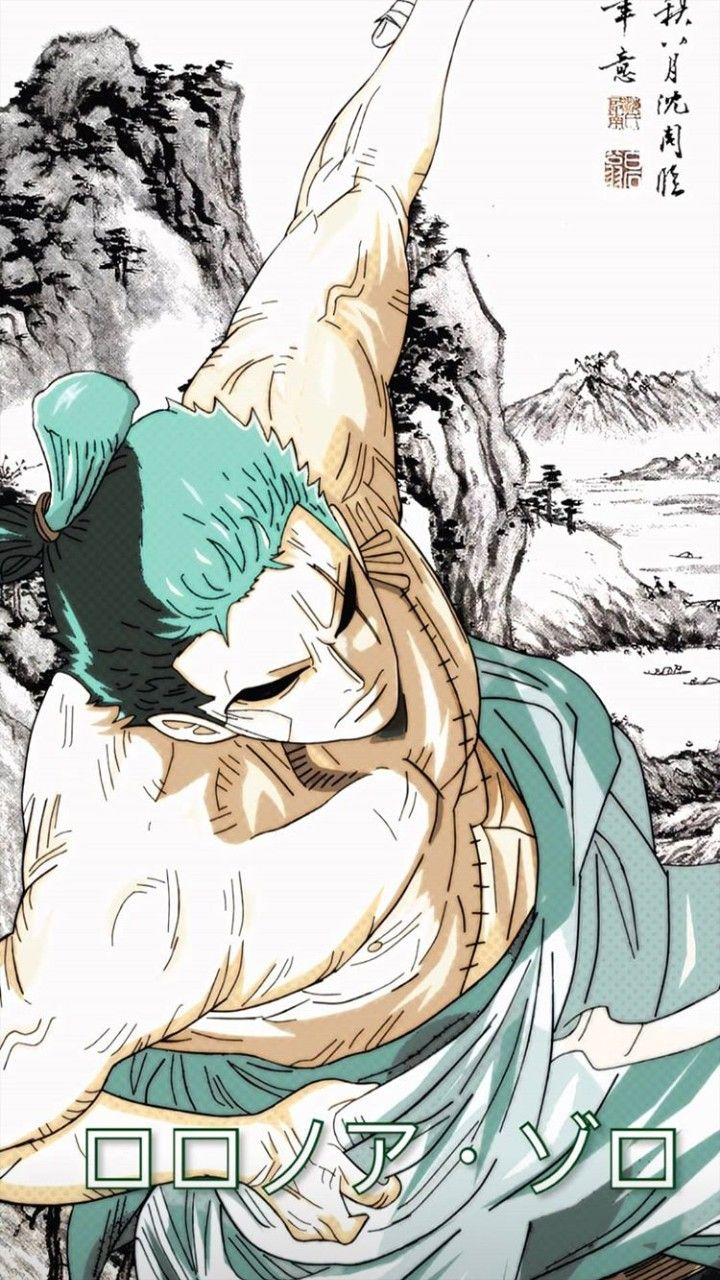 One Piece Zoro Wallpaper Iphone