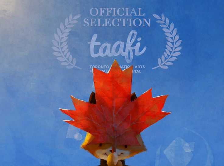 ? Behind Fox Can you spot the Canadian maple leaf The Dam Keeper is an official selection of the TAAFI - Toronto Animation Arts Festival International 2014! Illustration by Dice Tsutsumi. http://taafi.com/blog/  2014/03/17 /2014-official-shorts-selection /  www.thedamkeeper.com www.facebook.com/thedamkeeper