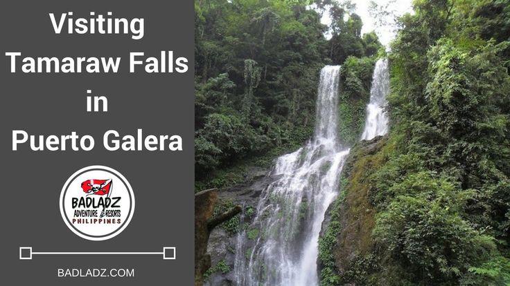 Tamaraw Falls Puerto Galera Oriental Mindoro Philippines