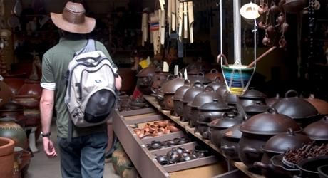 Pomaire - where traditional clay pots are made