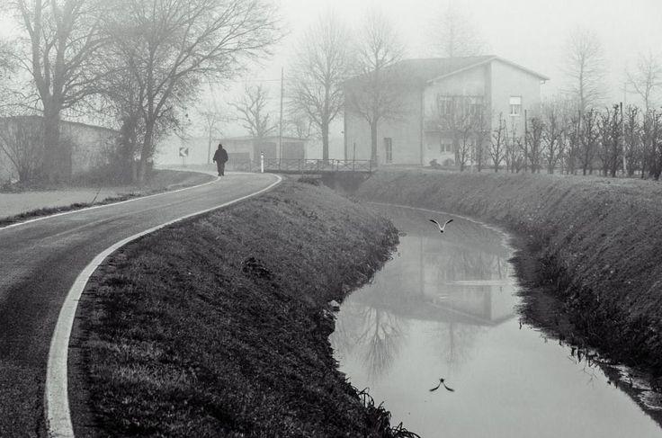 Alone in morning by Mirco Balboni