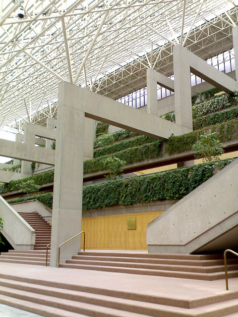 Vancouver Law Courts  great hall by gordonr, via Flickr