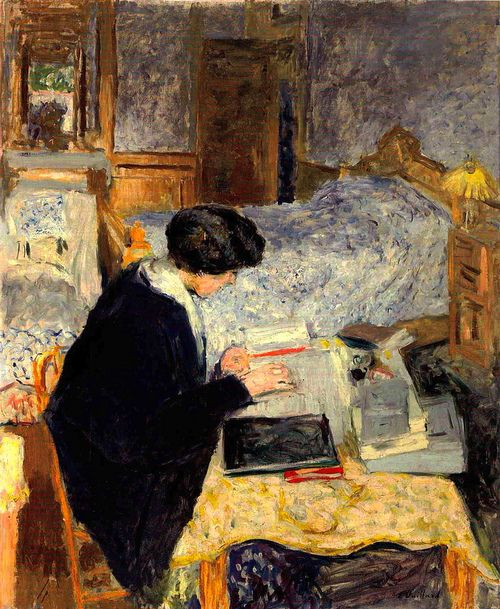 Unknown title. Jean-Édouard Vuillard (1868 – 1940), French painter and printmaker.