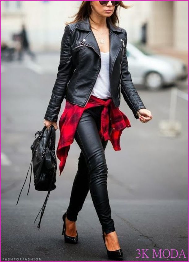 Bayan Deri Ceket Modelleri 2016 - http://www.3kmoda.com/blog/bayan-deri-ceket-modelleri-2016