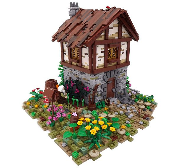 Lego Medieval House 8 best lego - fantasy houses images on pinterest | lego castle