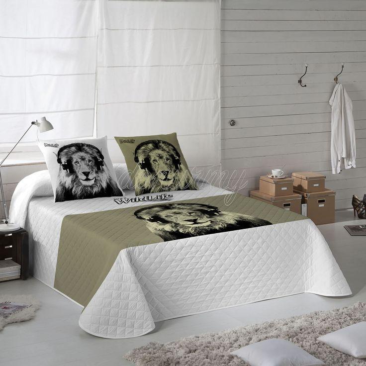 Colcha Bouti Spencer Wild Life - Bazartextil.com