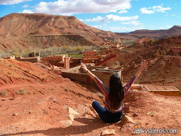 Garganta de Todra, Marruecos, destacada del concurso de fotos de mayo. Foto de la viajera florenciaa-franco. Mira más fotos ganadoras en www.viajeros.com