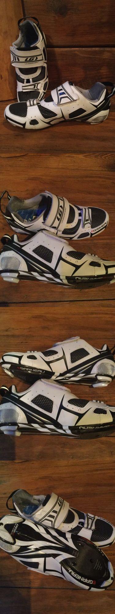 Men 158986: New Louis Garneau Tri Lite Carbon Spd-Sl Cycling Shoes Eu 37 Us 5 Or 6.5 Women -> BUY IT NOW ONLY: $48 on eBay!