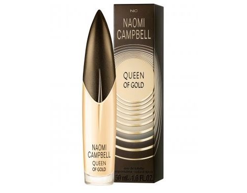 Queen of Gold Naomi Campbell perfume - a new fragrance for women 2013