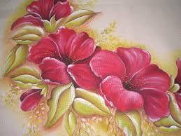 Resultado de imagen para como pintar flores con esponja