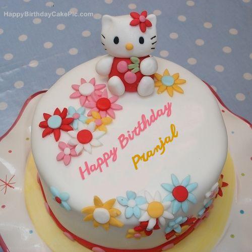 Hello Kitty Birthday Cake For Pranjal