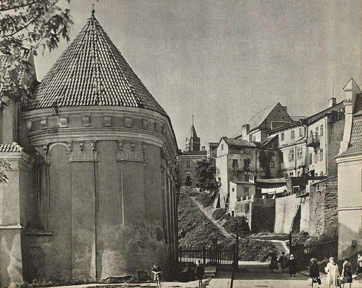 Rok 1964, kościół p.w. Św. Wojciecha.