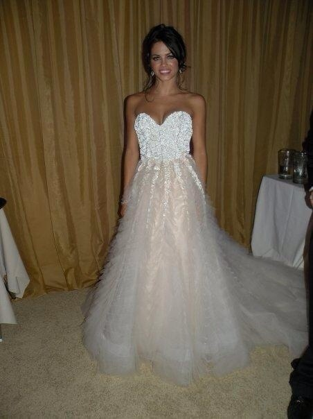 Jenna Dewan's magical wedding gown