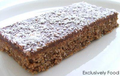 Exclusively Food: Chocolate Weet-Bix Slice Recipe
