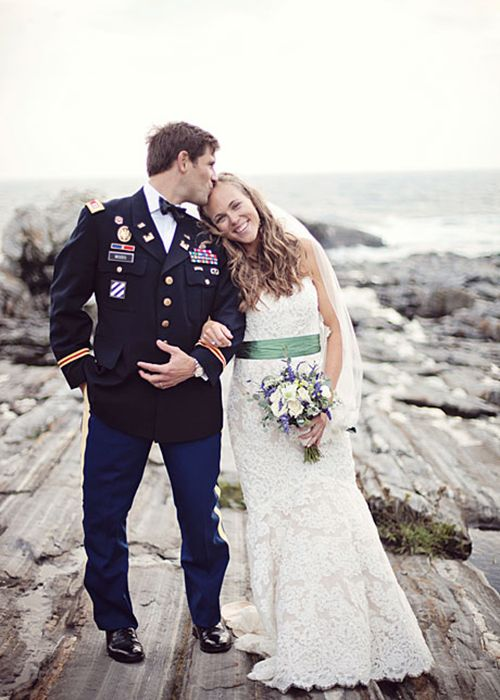 Military wedding etiquette and guidelines wedding for Free wedding dresses for military brides