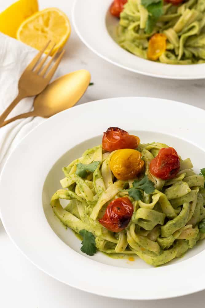 Avocado Green Pasta