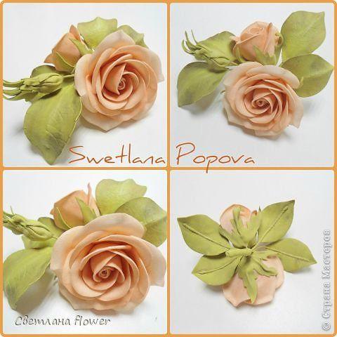 Украшение Моделирование конструирование Мои новые цветочки из фоамирана Фоамиран фом фото 1
