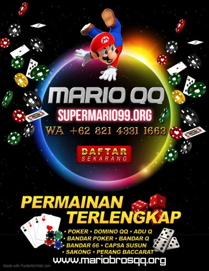 MARIO QQ in 2020 | Bandar, Poker, Movie posters