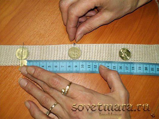 Как сделать вручную петли для пуговиц на вязаной планке
