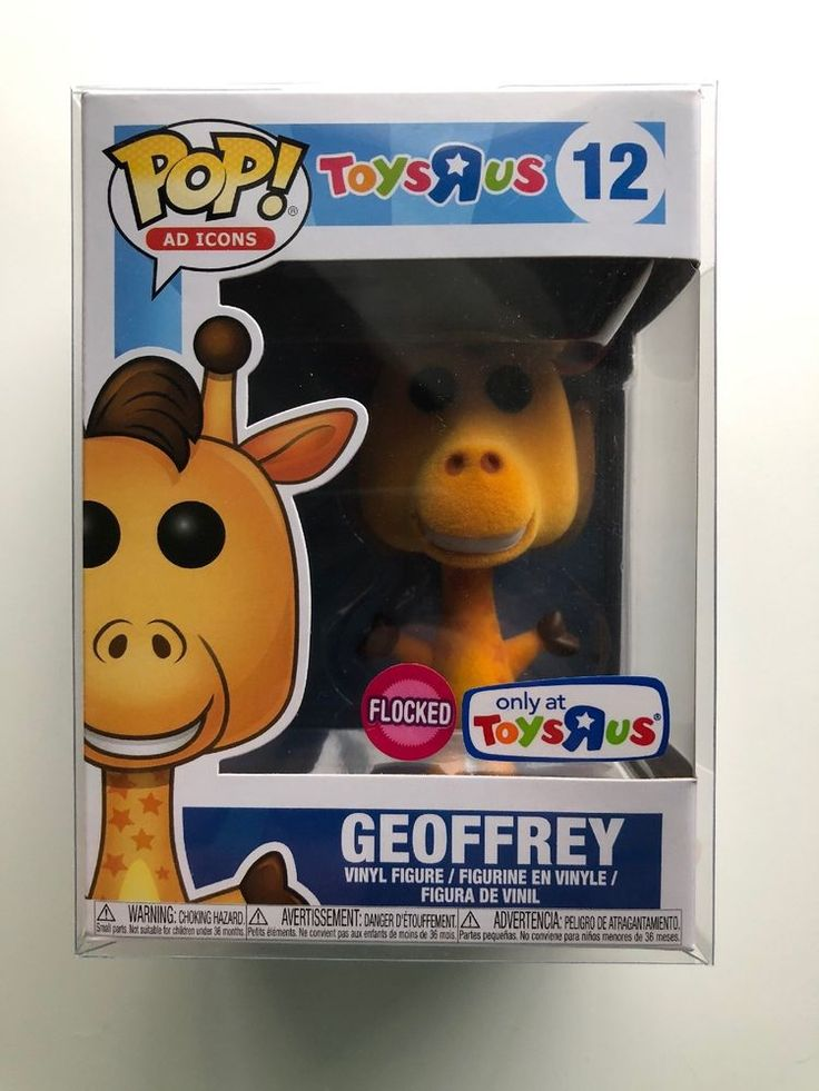 Funko Pop Ad Icons 12 Geoffrey Flocked Toys R Us exclusive