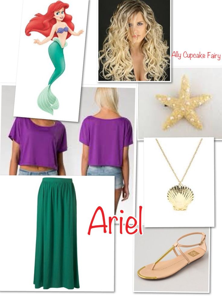 Ariel Disney Inspired Outfit Fashion 2 Try Pinterest Disney Disney Inspired Outfits And