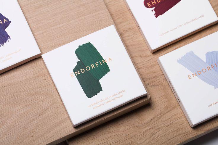 Packaging design and branding: Endorfina