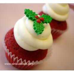 Christmas Red Velvet Cupcake Tree  Christmas Desserts