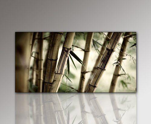 44 best Bambus Bilder images on Pinterest Bamboo, Feng shui and - wandbilder wohnzimmer grun