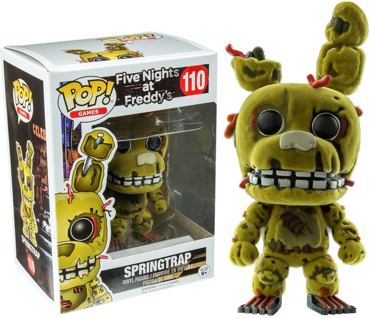 Funko POP! Action Figure - FNAF Five Nights at Freddy's - Springtrap Flocked. Otakupoint Store - Anime, Movies and more!