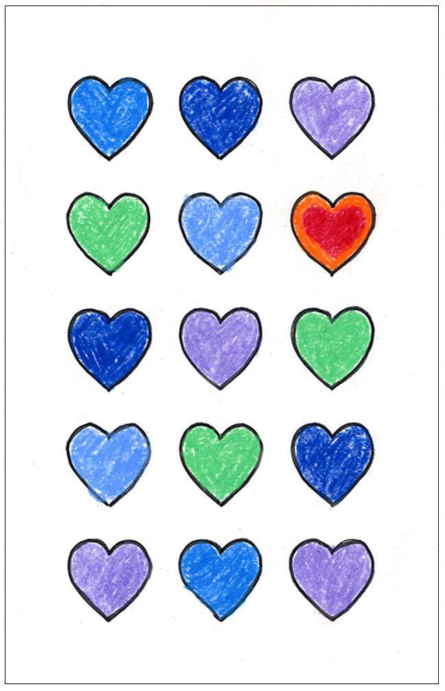 Art Projects for Kids: valentine's dayEmphasis Art Lessons, Heart Stands, Art Journals, Art Class, Teaching Art, Art Ideas, Focal Point, Art Education, Art Projects