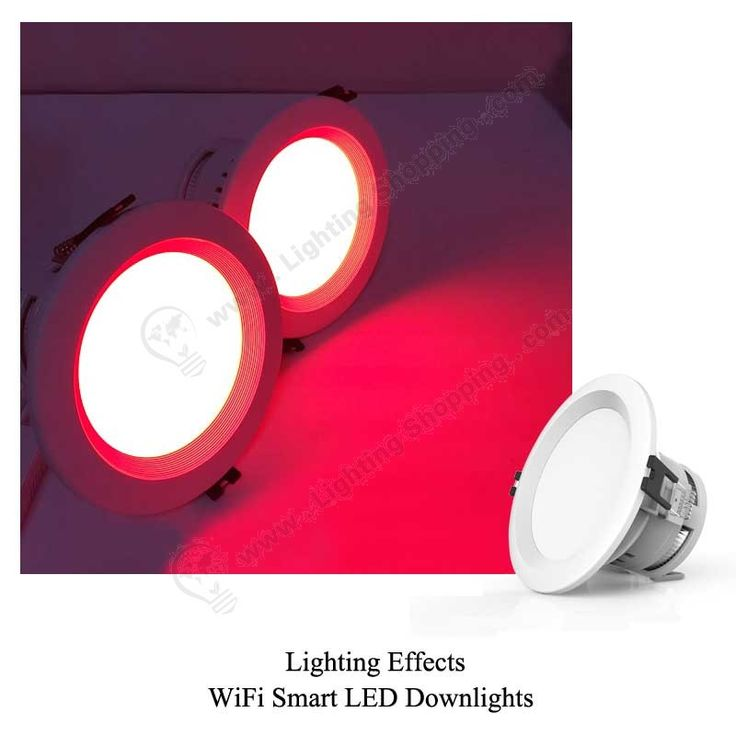 RGBW Wifi LED Downlights 7.5W -lighting-effects-1 More details at >>> http://www.lightingshopping.com/rgbw-wifi-led-downlights-7-5w.html