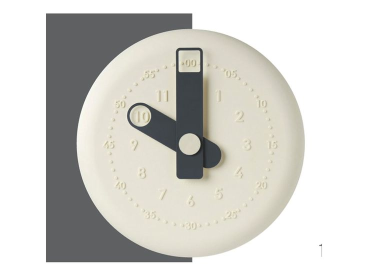 Hodiny na stěnu VICE VERSA Present, krémové. Průměr: 32 cm; Strojek: Quartz…