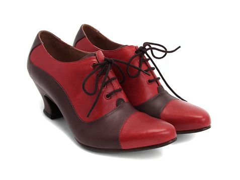 Check out the Fluevog K2 Love, love, love, love, love! Low heel might mean these are perfect for the next Euro adventure... Tied for first place on the Wish List. (When there's a tie, you have to get both, right?)