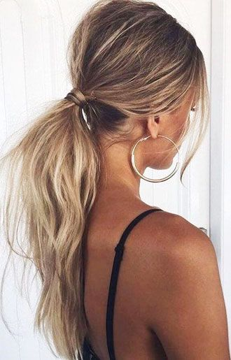 15 Easy Ponytail Hairstyles That Look So Lovely