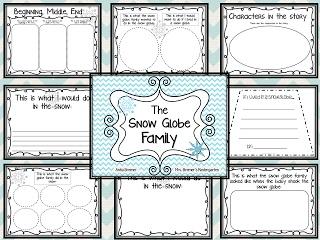 The Snow Globe Family {FREEBIE PACK}