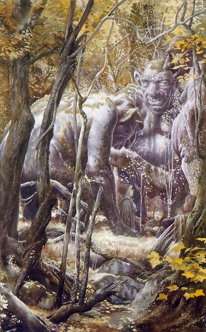 Alan Lee // Trolls
