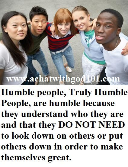 Truly Humble People
